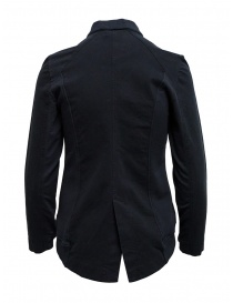 European Culture black fleece jacket with zip
