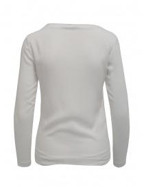 European Culture white long sleeve double layer t-shirt