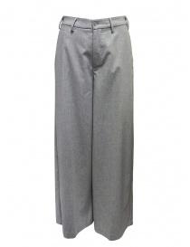 European Culture pantalone a palazzo grigi online