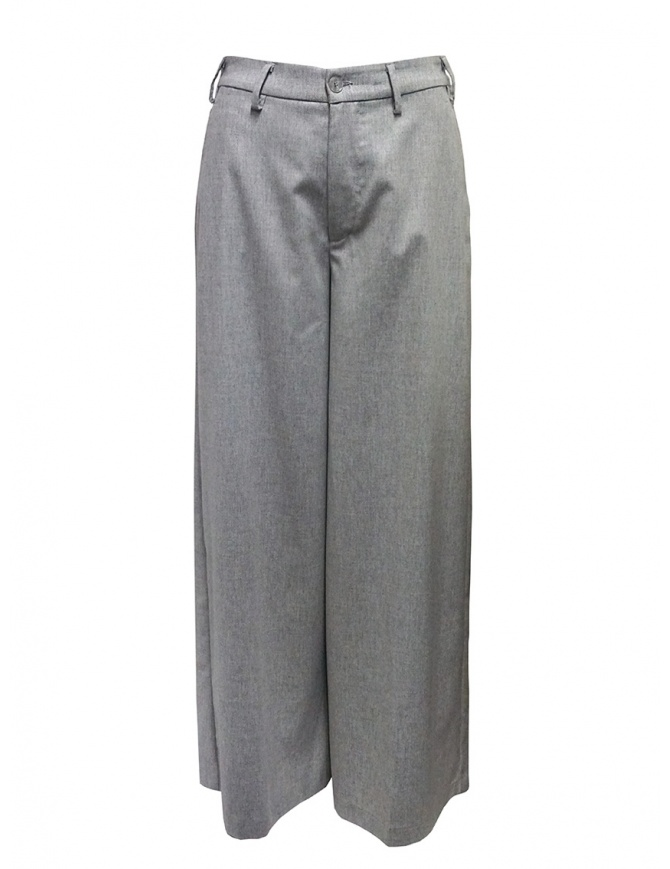 European Culture gray palazzo trousers 0640 0839 0309 womens trousers online shopping