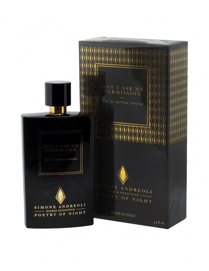 Simone Andreoli Don't ask me permission perfume DON'T ASK ME PERMISSION perfumes online shopping