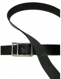 Deepti reversible black leather belt