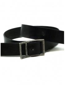 Deepti reversible black leather belt price