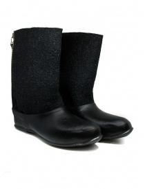 Calzature uomo online: Deepti stivali in lana merino con galoscia in gomma