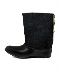 Deepti merino wool boots with rubber galosh