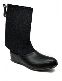 Deepti merino wool boots with rubber galosh buy online price