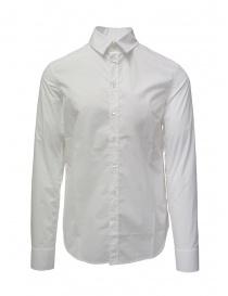 Camicie uomo online: Deepti camicia classica di cotone bianco