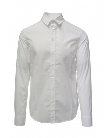 Deepti classic white cotton shirt S-139R TYPE 11