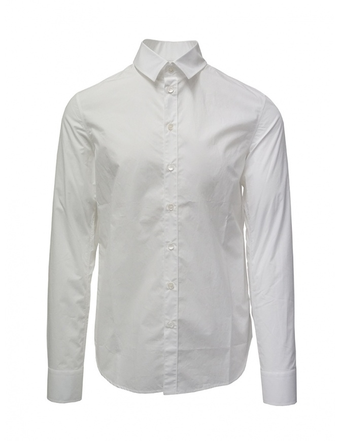 Deepti classic white cotton shirt S-139R TYPE 11 mens shirts online shopping