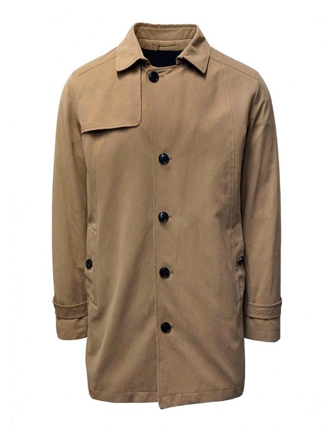 Cappotto corto Selected Driver Collar beige 16071537 SEPIA TINT cappotti uomo online shopping