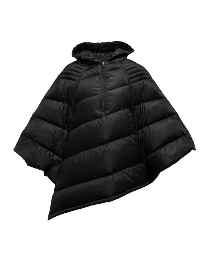 Yasmin Naqvi black cape down jacket YNKD26 NERO womens jackets online shopping