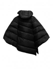 Yasmin Naqvi black cape down jacket price