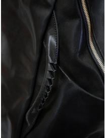 Cornelian Taurus zaino in pelle nera con manici frontali borse prezzo