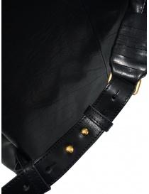 Cornelian Taurus zaino in pelle nera con manici frontali acquista online prezzo