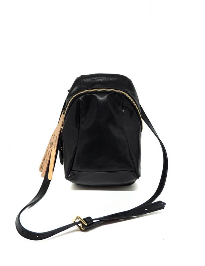Cornelian Taurus mini bag a tracolla in pelle nera CO19FWTS020 BLACK borse online shopping
