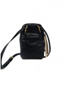 Cornelian Taurus mini bag a tracolla in pelle nera prezzo