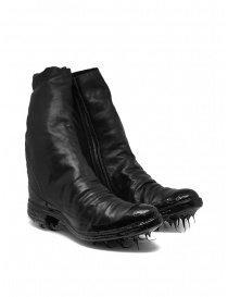 Mens shoes online: Carol Christian Poell black boots with dripped sole