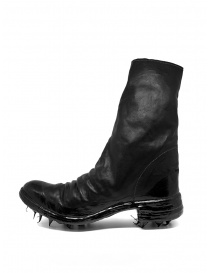 Carol Christian Poell black boots with dripped sole buy online