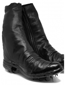 Carol Christian Poell black boots with dripped sole mens shoes price