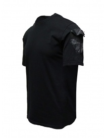 D.D.P. black T-shirt with hand-painted details mens t shirts buy online