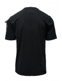 D.D.P. black T-shirt with hand-painted details mens t shirts price