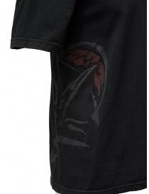 D.D.P. T-shirt nera con dettagli dipinti a mano prezzo