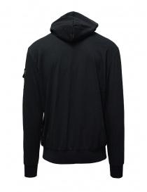 D.D.P. felpa nera con cappuccio e tasca sulla spalla prezzo