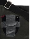 D.D.P. cartella in cuoio nera con taschinoshop online borse