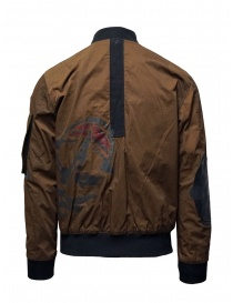 D.D.P. tobacco-colored bomber jacket with black mesh vest buy online price