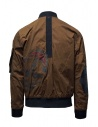 D.D.P. tobacco-colored bomber jacket with black mesh vest price MBJ001 BOMBER COT/NYL UOMO shop online