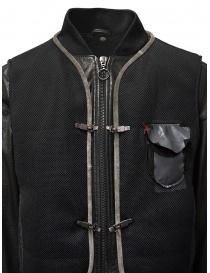 D.D.P. leather bomber with black mesh vest mens jackets buy online