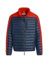 Parajumpers piumino Bredford blu e arancio acquista online PMJCKSX13 BREDFORD ORANGE
