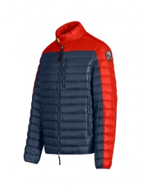 Parajumpers Bredford blue and orange down jacket
