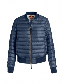 Parajumpers Sharyl blue padded bomber jacket online