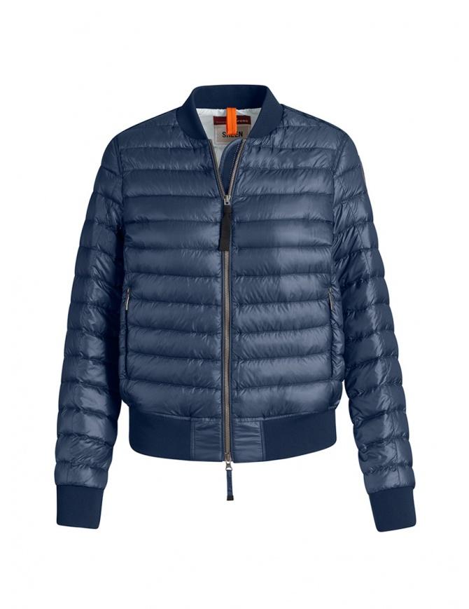 Parajumpers Sharyl blue padded bomber jacket PWJCKSX33 SHARYL INTERSTELLAR womens jackets online shopping