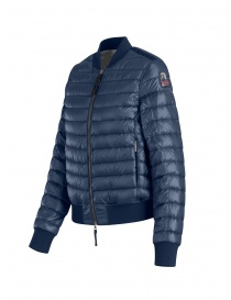 Parajumpers Sharyl blue padded bomber jacket