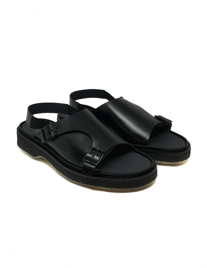 Adieu sandalo Type 140 nero in pelle TYPE 140 POLIDO CALF calzature uomo online shopping