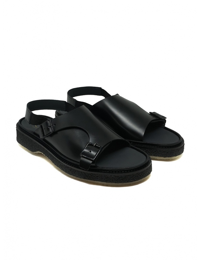 Adieu Type 140 black leather sandal TYPE 140 POLIDO CALF mens shoes online shopping