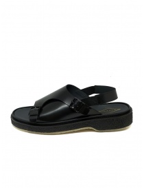 Adieu Type 140 black leather sandal
