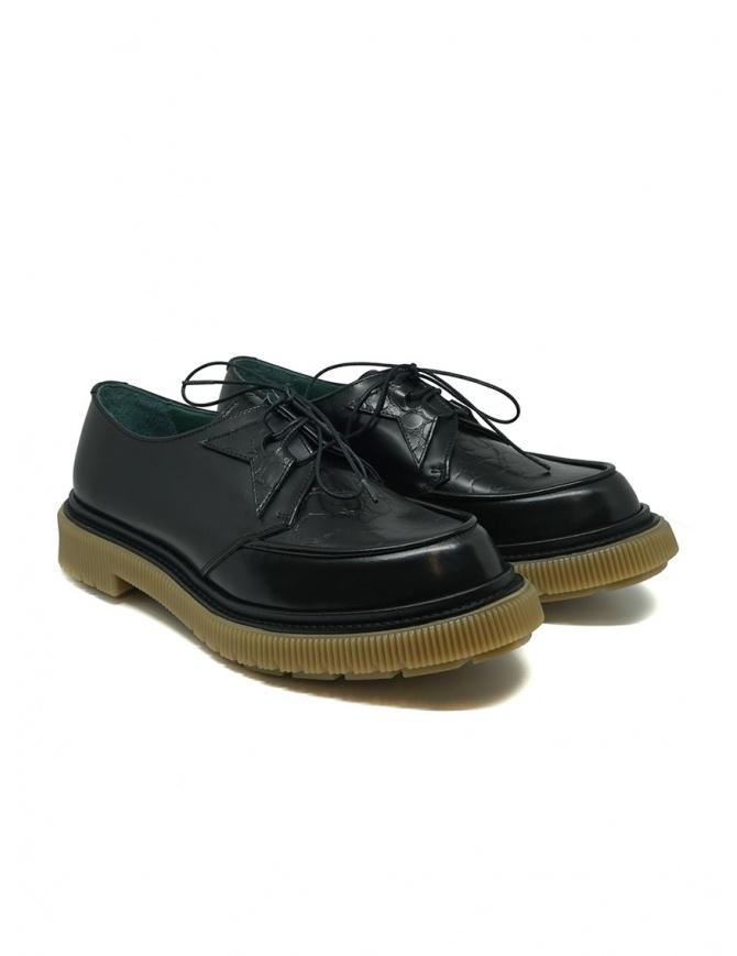 Adieu X Très Bien Type 141 derby nere in pelle TYPE 141 TRES BIEN BLACK calzature uomo online shopping