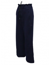 Casey Vidalenc blue wool wide trousers