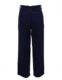 Casey Vidalenc blue wool wide trousers price