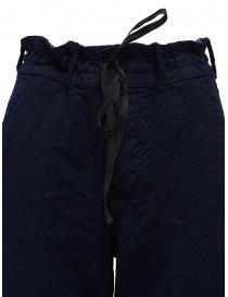 Casey Vidalenc pantaloni a palazzo in lana blu pantaloni donna acquista online