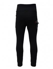 D.D.P. pantalone sportivo a vita alta nero pantaloni uomo acquista online
