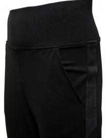 D.D.P. pantalone sportivo a vita alta nero pantaloni uomo prezzo