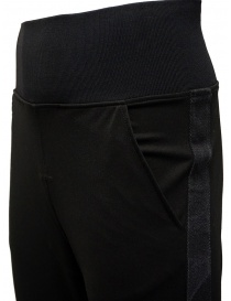 D.D.P. sporty pants in black viscose mens trousers price