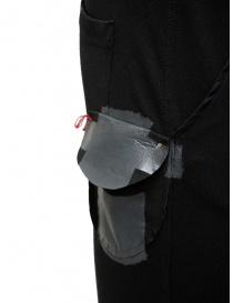 D.D.P. pantalone sportivo a vita alta nero