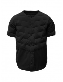 Descente short-sleeve black down jacket online