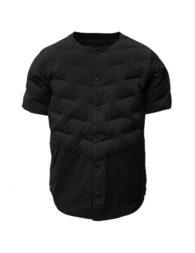 Descente short-sleeve black down jacket DAMOGC50 BK mens jackets online shopping