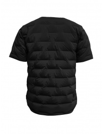 Descente short-sleeve black down jacket